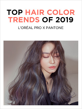HAIR COLOR TRENDS OF 2019 (GRAZIA 2019년 2월호)